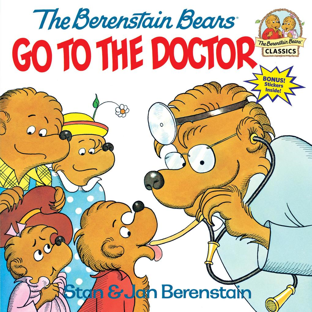 The Berenstain Bears Go to the Doctor als Taschenbuch