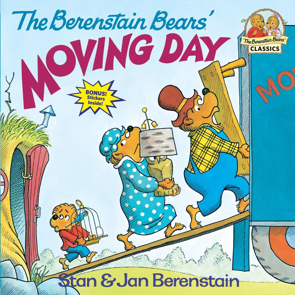 The Berenstain Bears' Moving Day als Taschenbuch