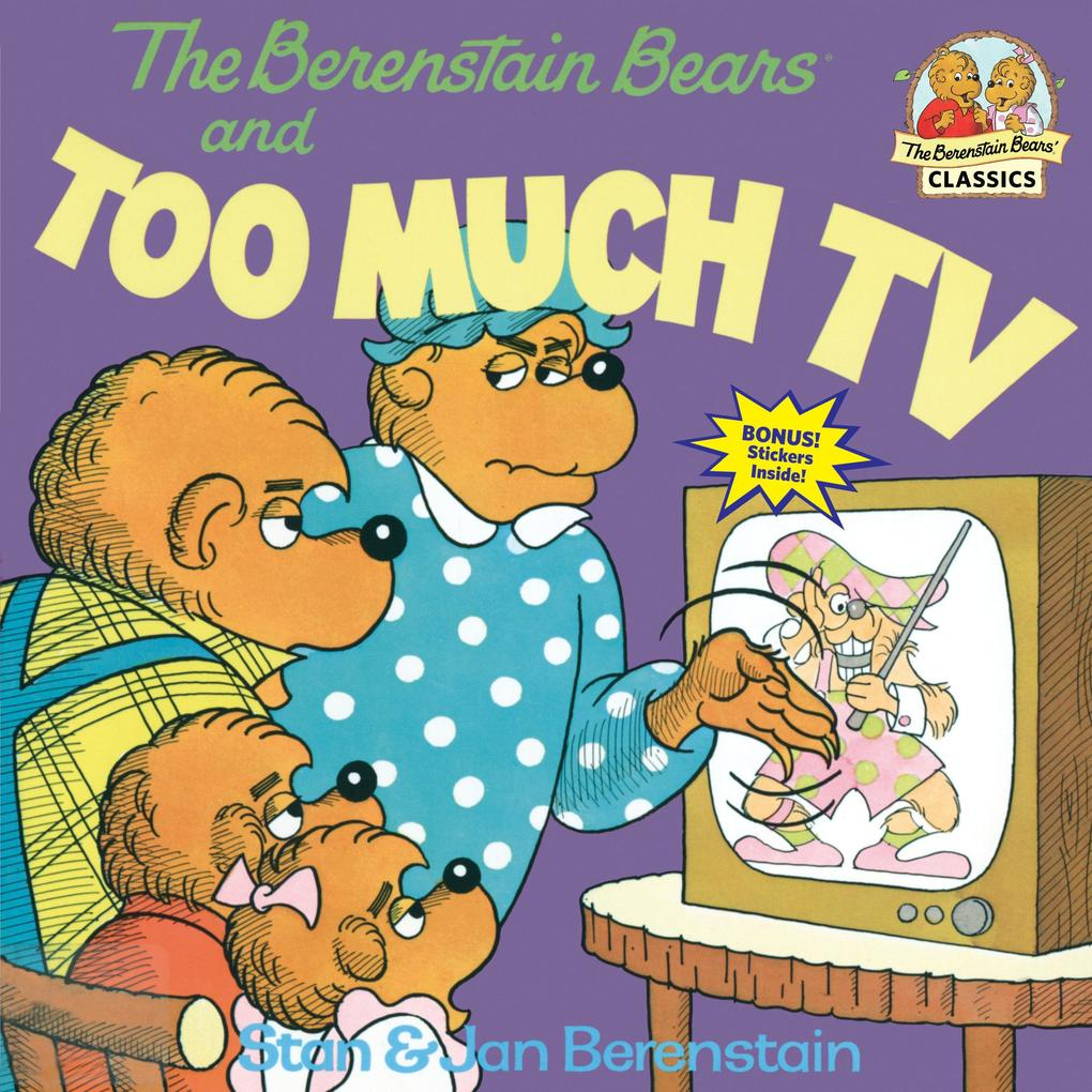 Berenstain Bears And Too Much TV als Taschenbuch