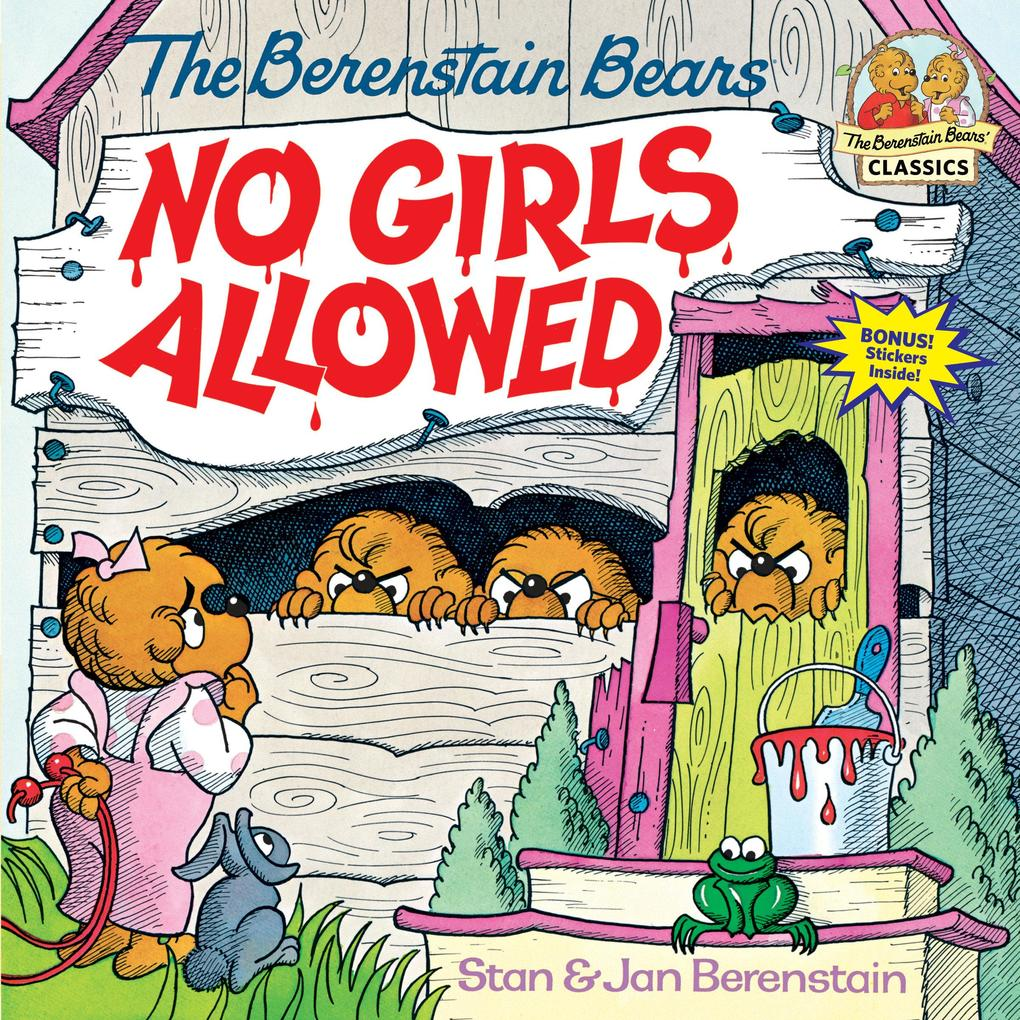 Berenstain Bears No Girls Allowed als Taschenbuch