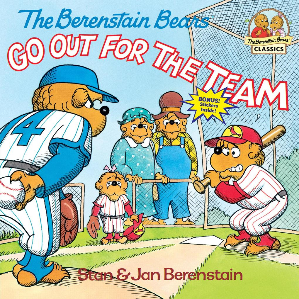 The Berenstain Bears Go Out for the Team als Taschenbuch