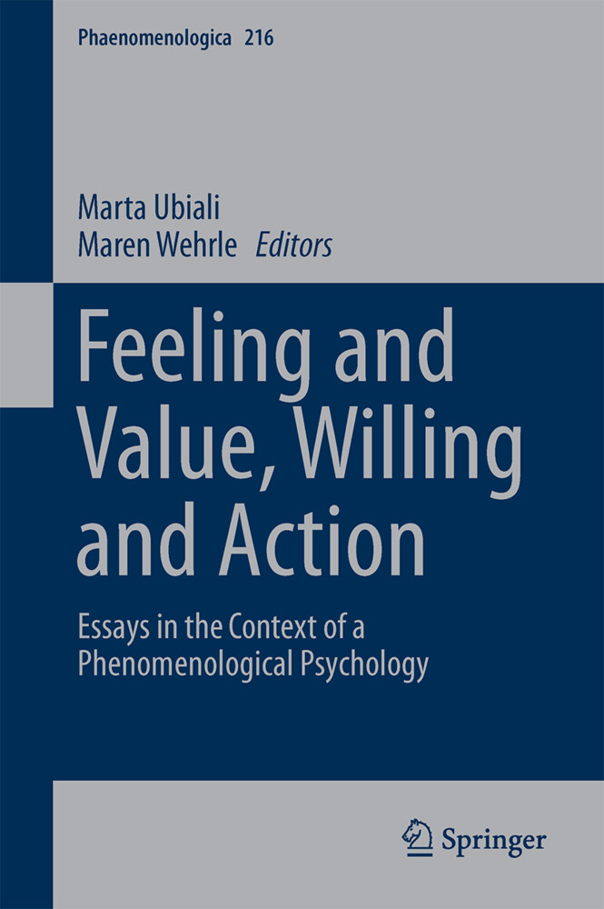 Feeling and Value, Willing and Action als Buch (gebunden)