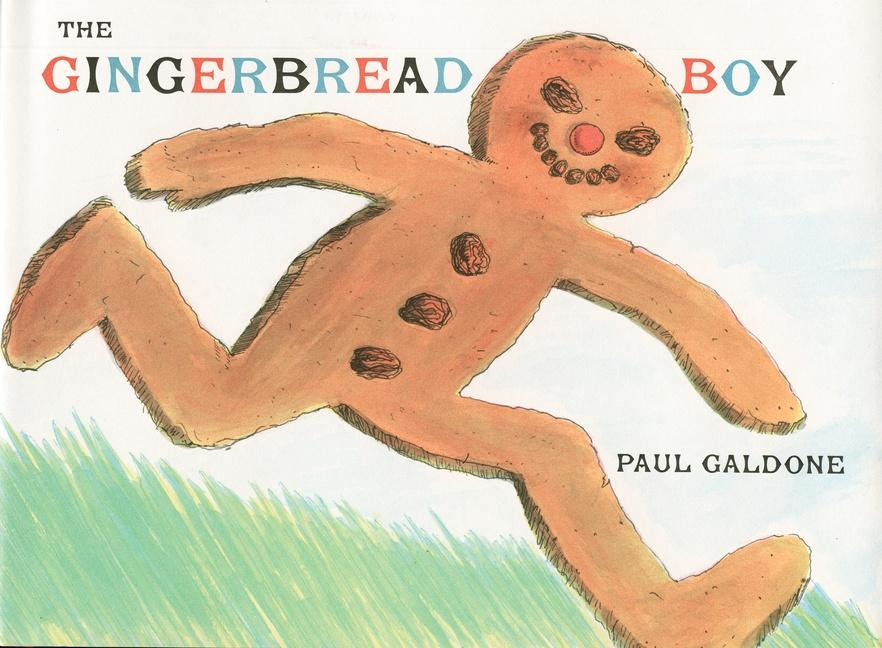 The Gingerbread Boy als Buch