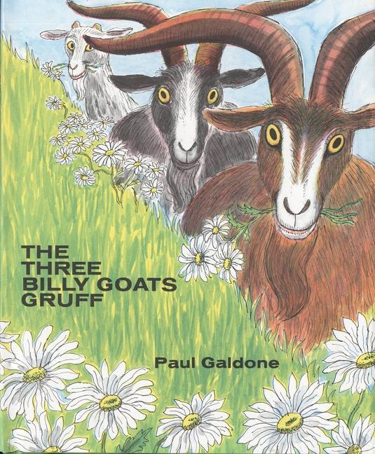 The Three Billy Goats Gruff als Buch
