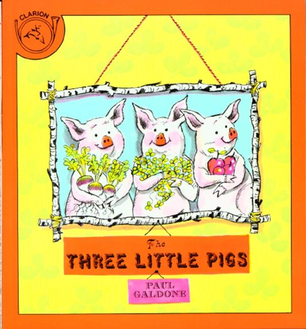 The Three Little Pigs als Buch