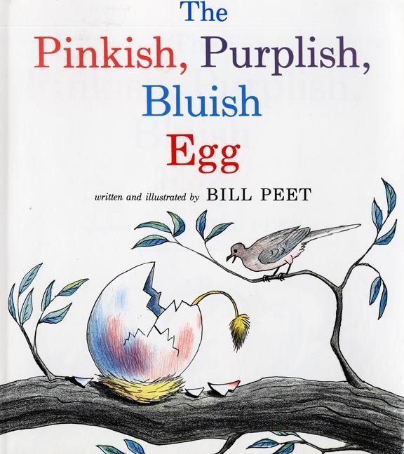 The Pinkish, Purplish, Bluish Egg als Taschenbuch