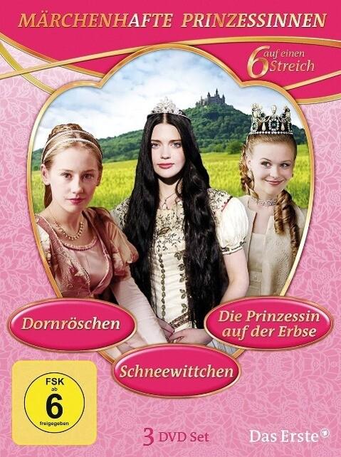 Märchenhafte Prinzessinnen als DVD