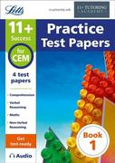 11+ Practice Test Papers (Get test-ready) Book 1, inc. Audio Download: for the CEM tests