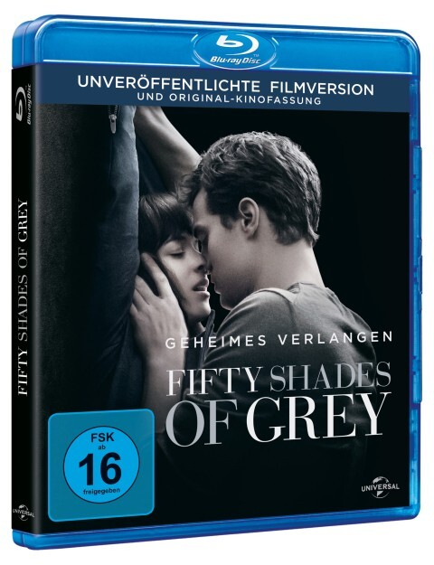 Fifty Shades of Grey - Geheimes Verlangen als DVD