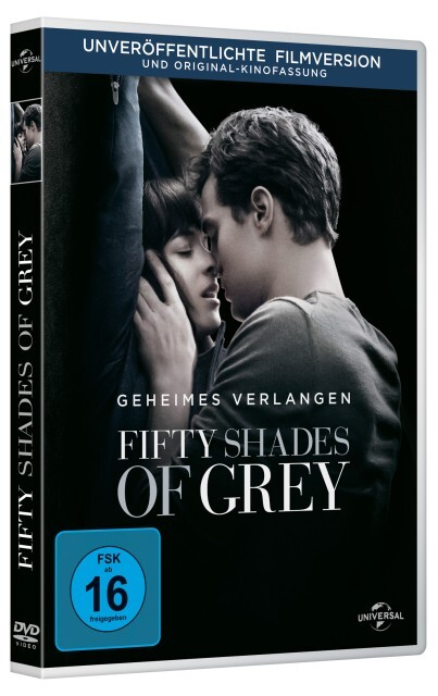 Fifty Shades of Grey - Geheimes Verlangen als DVD
