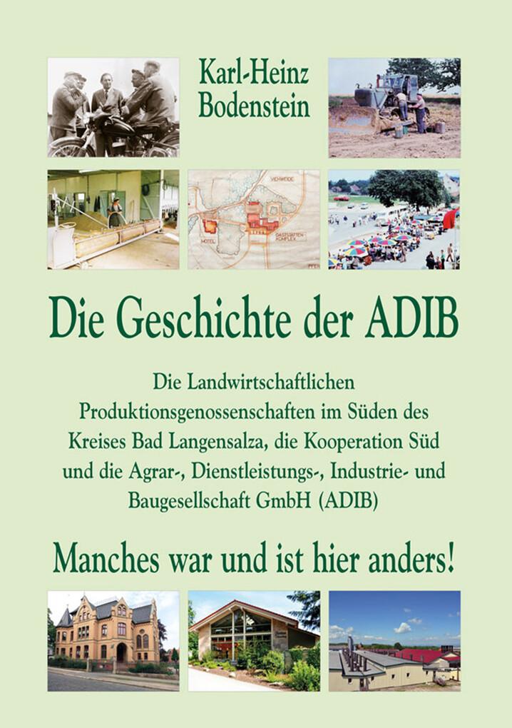 Die Geschichte der ADIB. als eBook Download von...