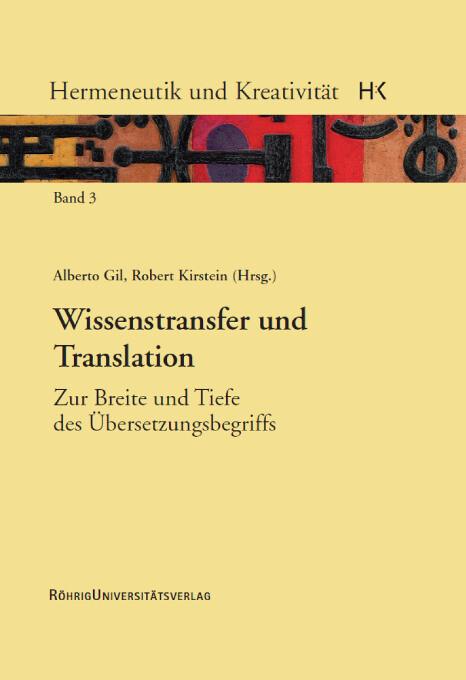 Wissenstransfer und Translation als Buch von