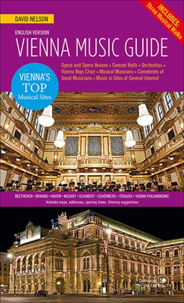 Vienna Music Guide als Buch von David Nelson