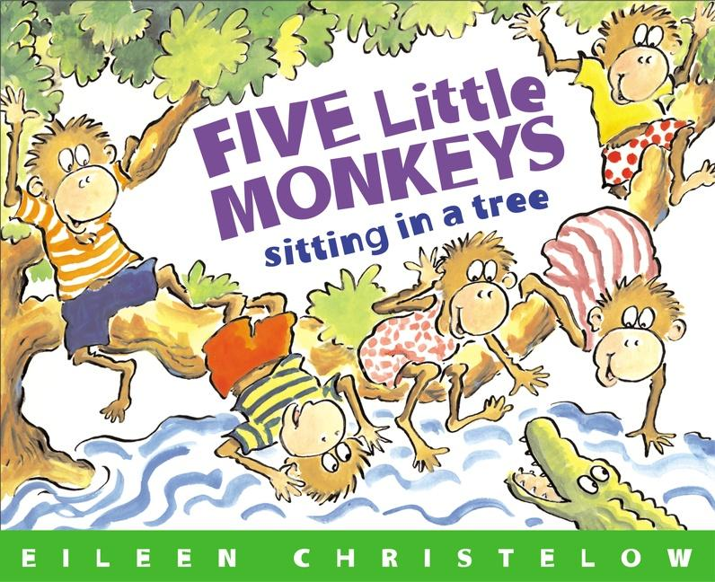 Five Little Monkeys Sitting in a Tree als Taschenbuch