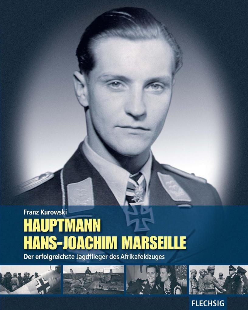 Hauptmann Hans-Joachim Marseille als Buch