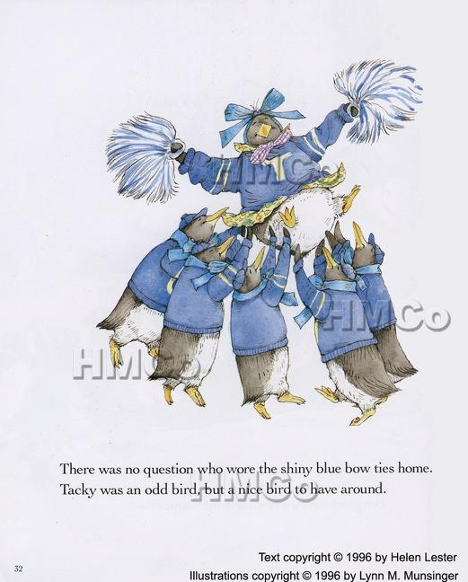 Three Cheers for Tacky (Paperback) 1996c Houghton Mifflin als Taschenbuch