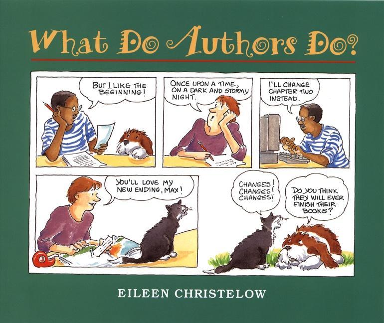 What Do Authors Do? als Taschenbuch