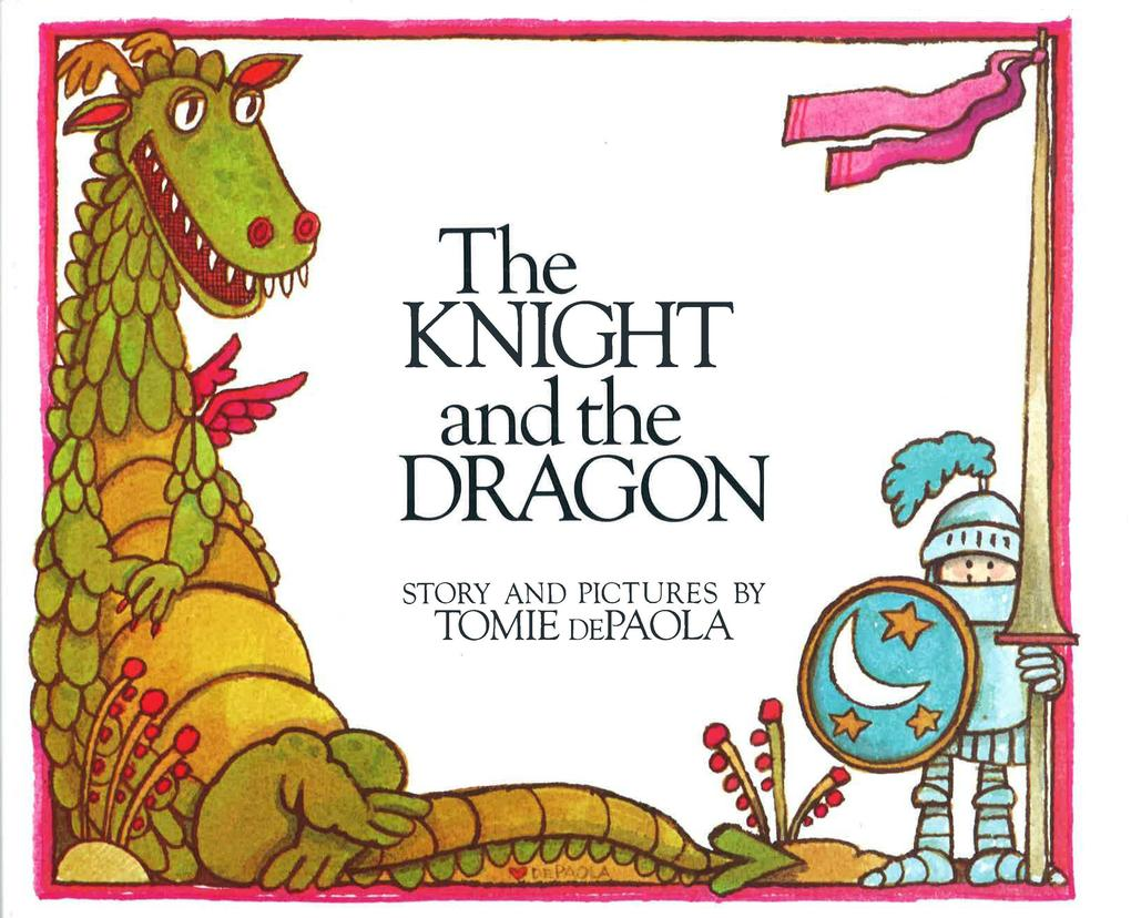 The Knight and the Dragon als Buch