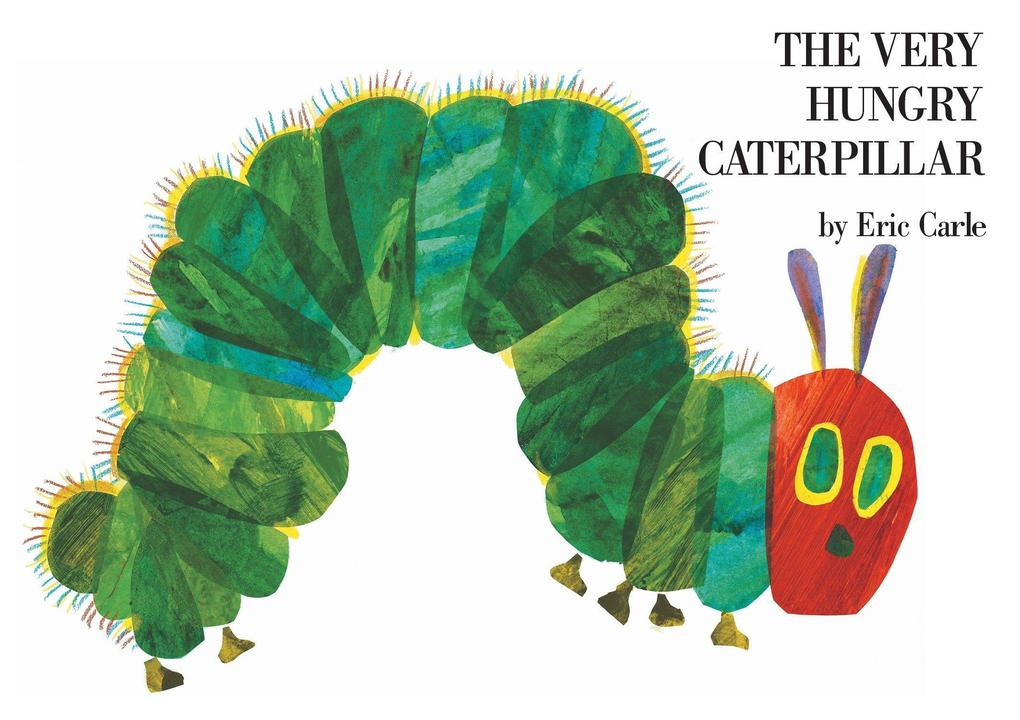 The Very Hungry Caterpillar als Buch
