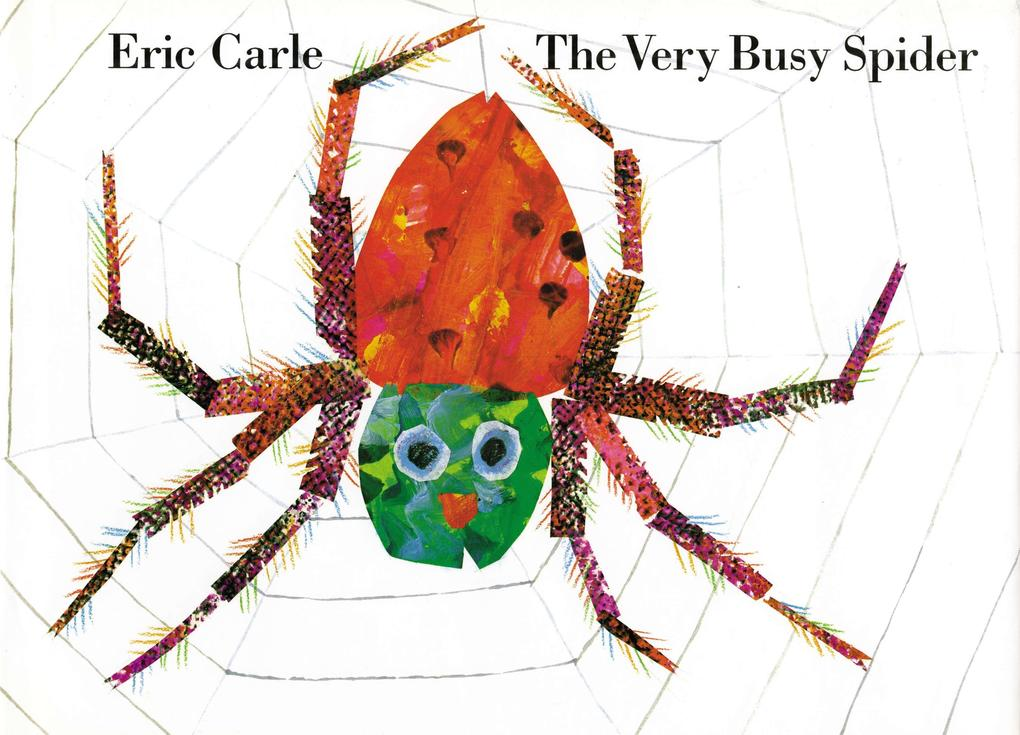 The Very Busy Spider als Buch