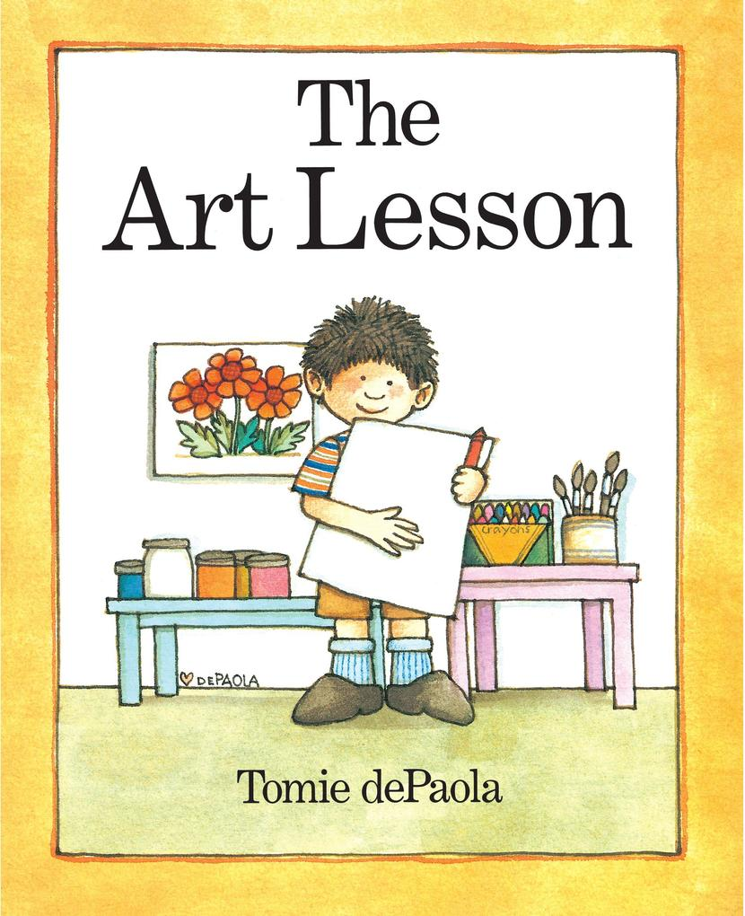 The Art Lesson als Buch