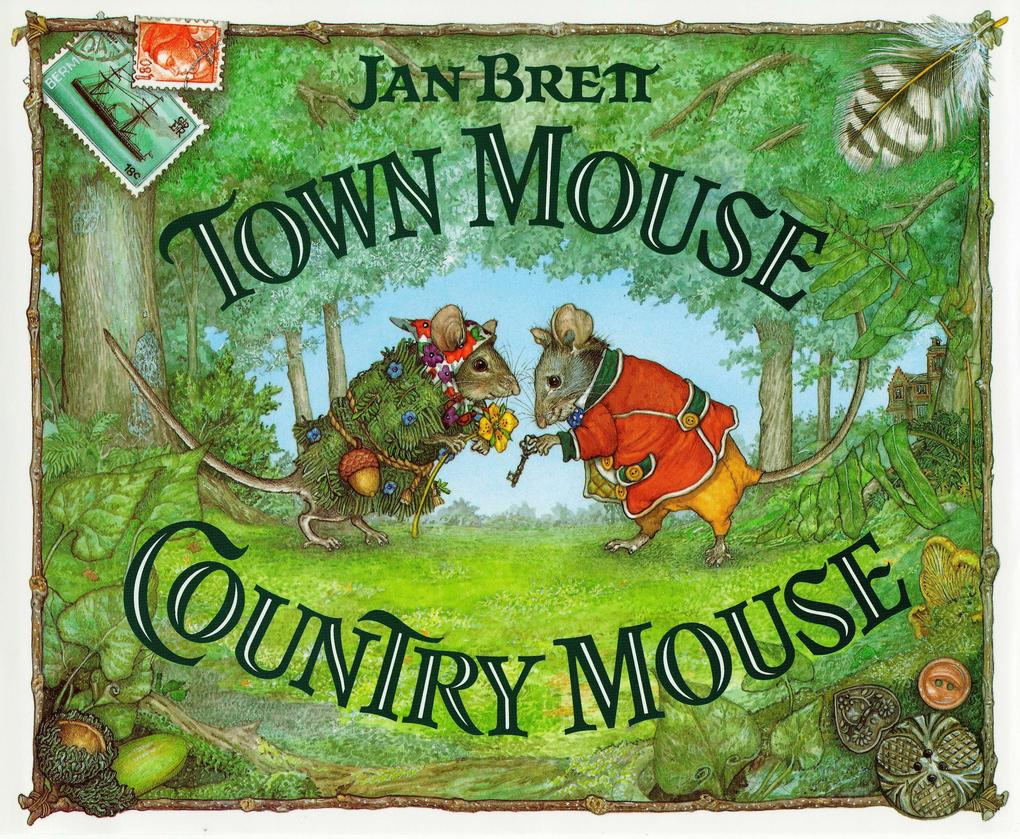 Town Mouse Country Mouse als Buch