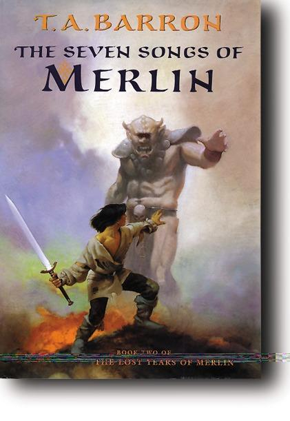 The Seven Songs of Merlin als Buch