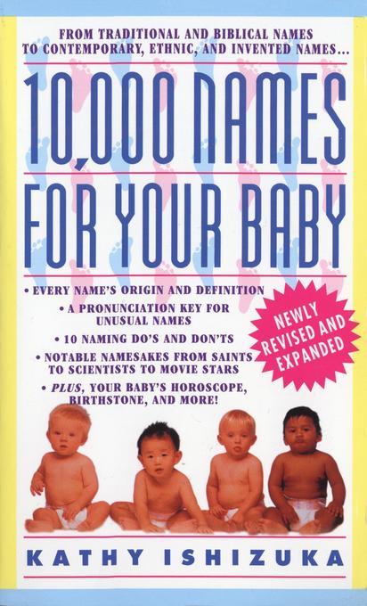 10,000 Names for Your Baby als Taschenbuch