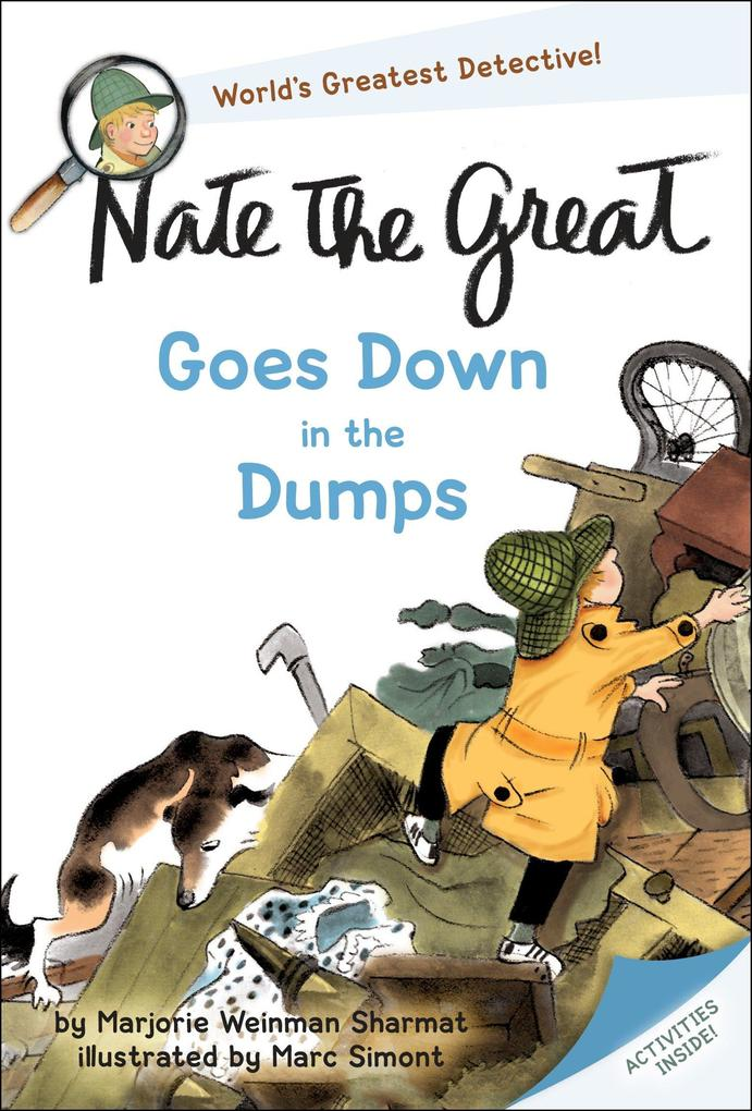 Nate the Great Goes Down in the Dumps als Taschenbuch