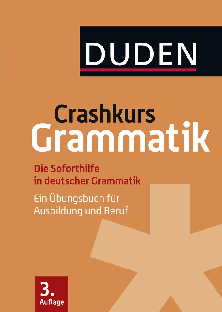 Crashkurs Grammatik als eBook Download von Anja...