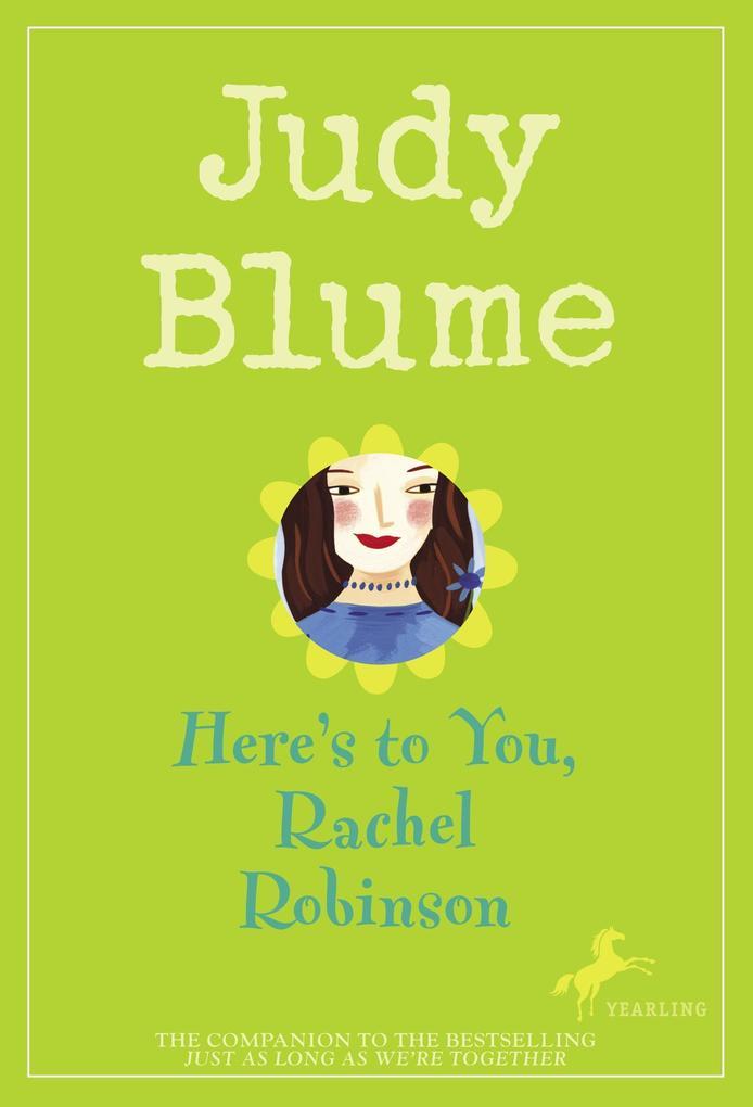 Here's to You, Rachel Robinson als Taschenbuch