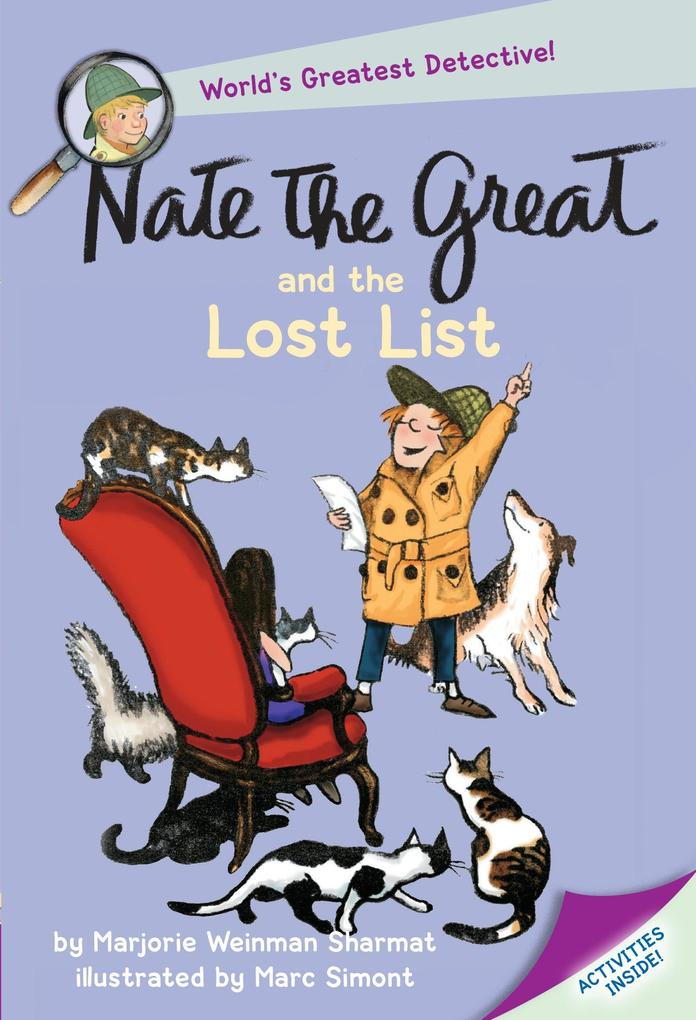 Nate the Great and the Lost List als Taschenbuch