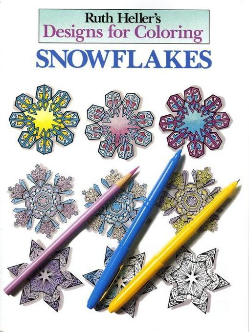 Designs for Coloring: Snowflakes als Taschenbuch