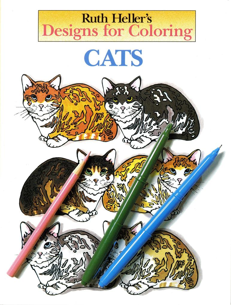 Designs for Coloring: Cats als Taschenbuch