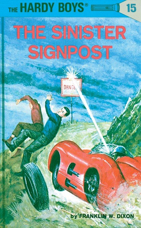 Hardy Boys 15: The Sinister Signpost als Buch