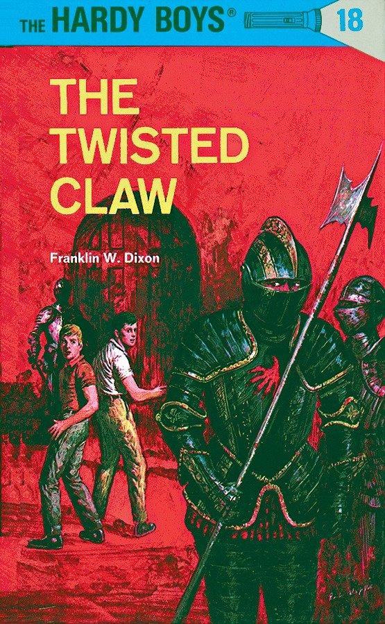Hardy Boys 18: The Twisted Claw als Buch