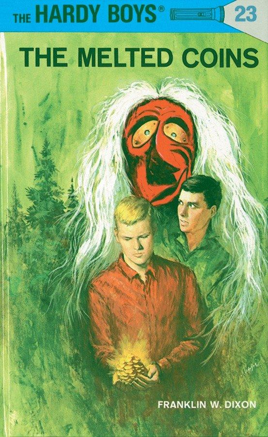 Hardy Boys 23: The Melted Coins als Buch
