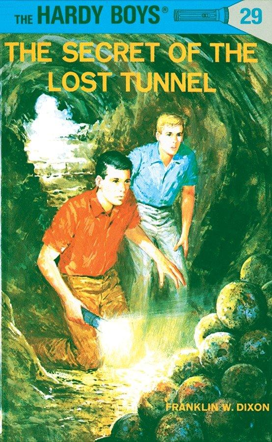 Hardy Boys 29: The Secret of the Lost Tunnel als Buch