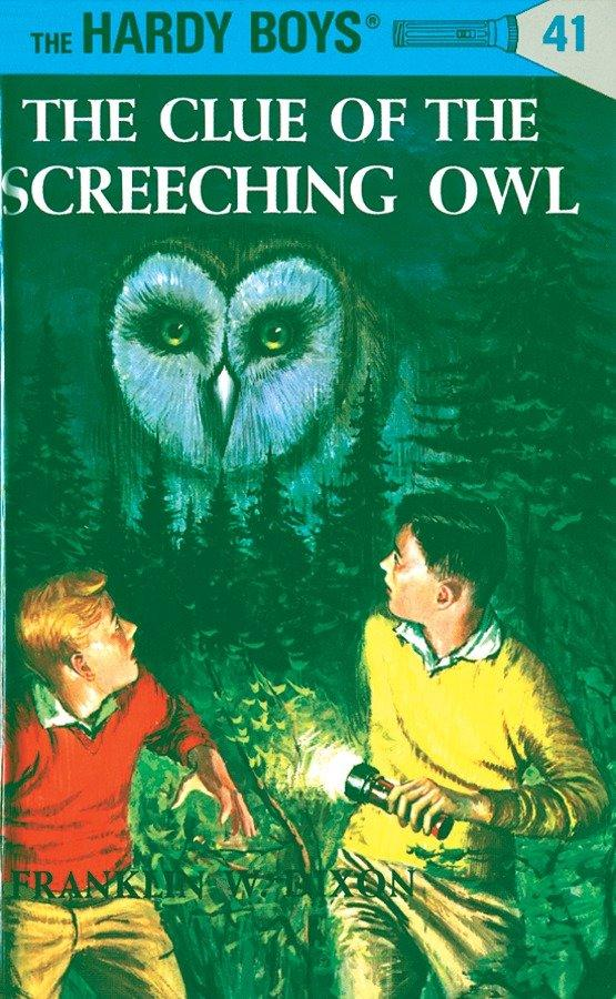 The Clue of the Screeching Owl als Buch