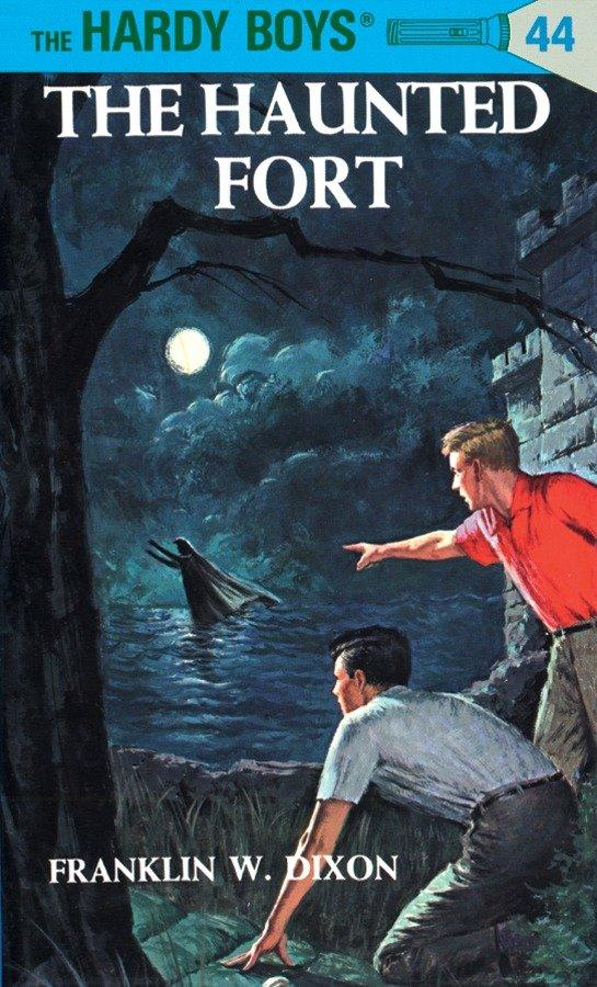 Hardy Boys 44: The Haunted Fort als Buch