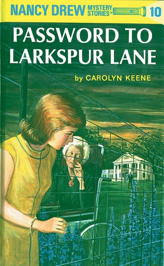 Nancy Drew 10: Password to Larkspur Lane als Buch