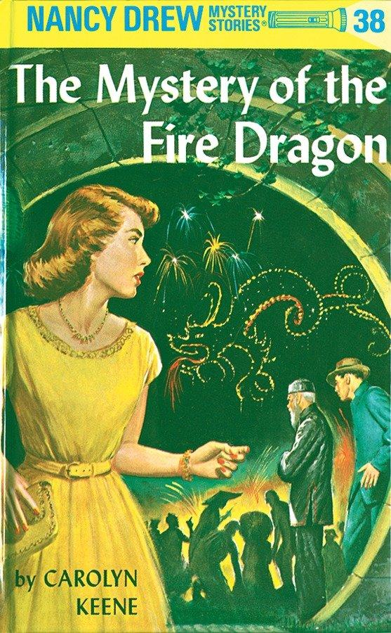 Nancy Drew 38: The Mystery of the Fire Dragon als Buch