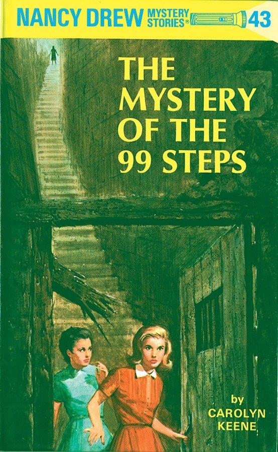 Nancy Drew 43: The Mystery of the 99 Steps als Buch (gebunden)