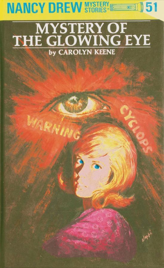 Nancy Drew 51: Mystery of the Glowing Eye als Buch