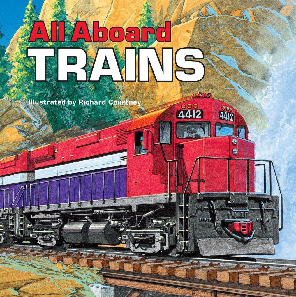 All Aboard Trains als Taschenbuch