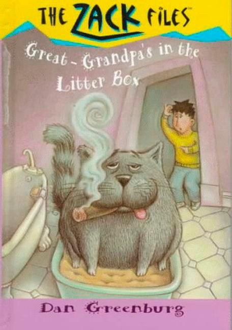 Zack Files 01: Great-Grandpa's in the Litter Box als Taschenbuch
