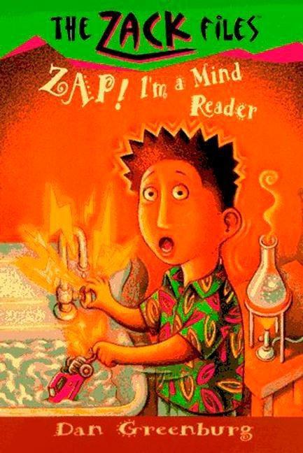 Zack Files 04: Zap! I'm a Mind Reader als Taschenbuch