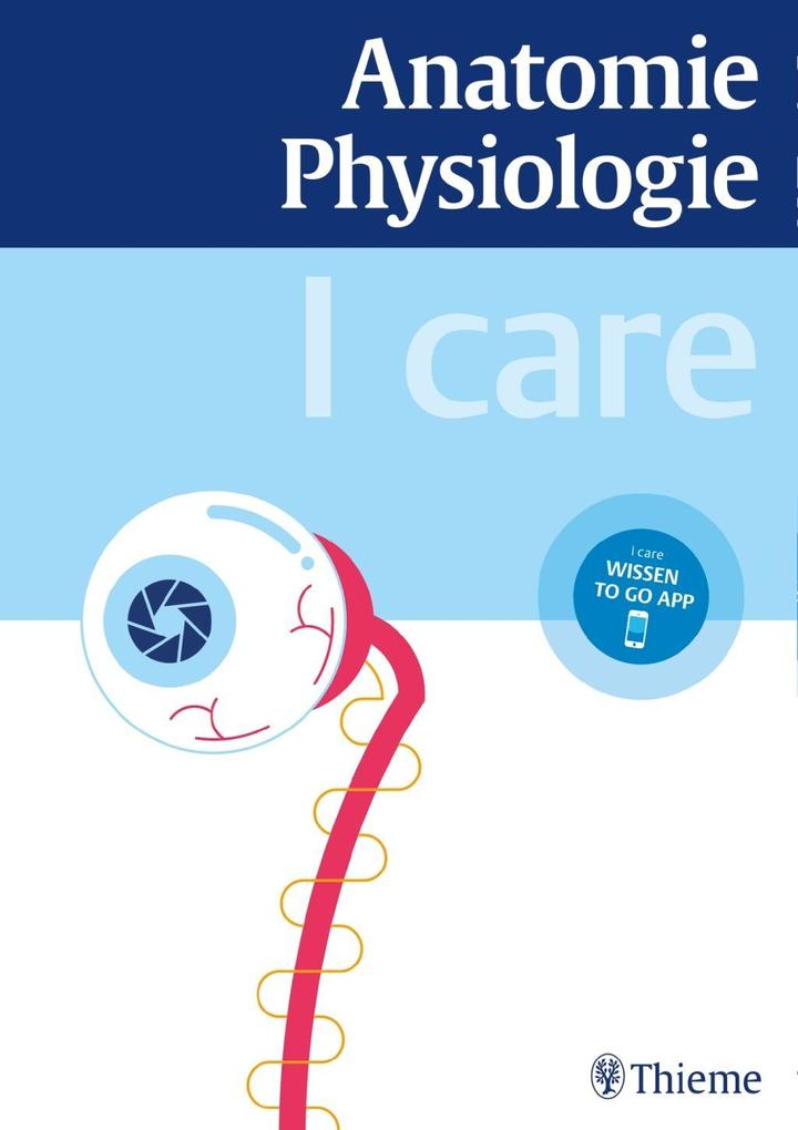 I care Anatomie, Physiologie als Buch