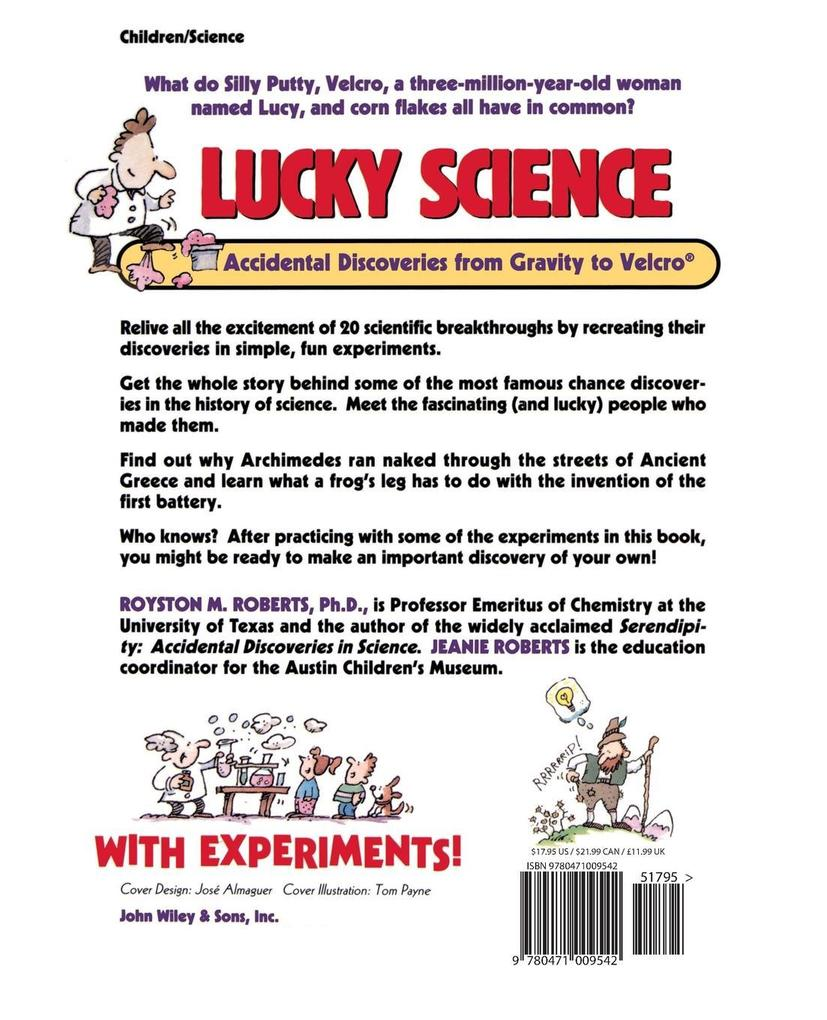 Lucky Science: Accidental Discoveries from Gravity to Velcro, with Experiments als Taschenbuch