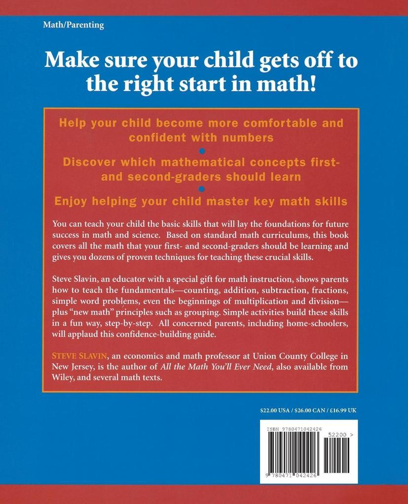 Math for Your First- And Second-Grader: All You Need to Know to Be Your Child's Best Teacher als Taschenbuch